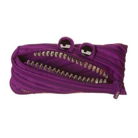 ZIPIT USA - Zipit Grillz Electric Purple Pencil Case