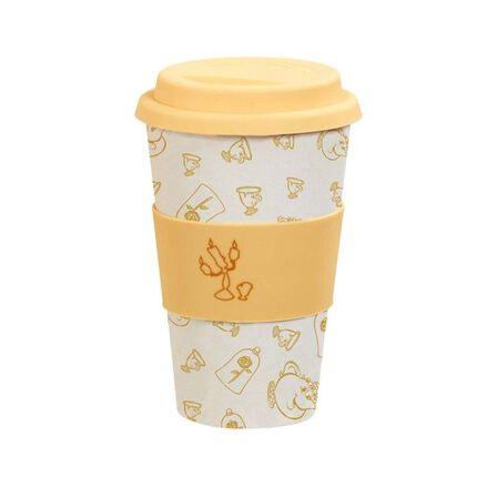 FUNKO TOYS - Funko Disney Colour Block Bamboo Lidded Mug Be Our Guest