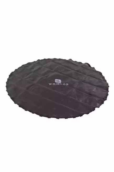 DOMYOS - Essential 240 trampoline rebound mat, TRUE BLACK