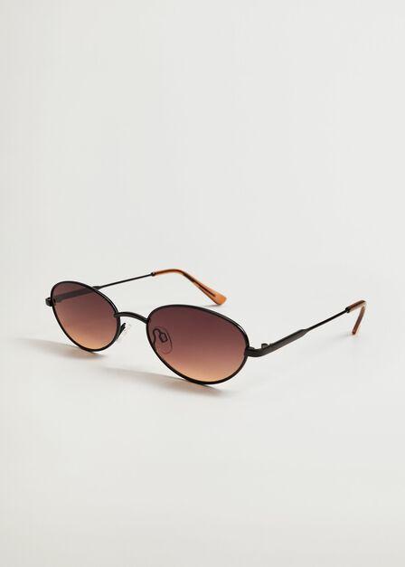 Mango - black Metallic frame sunglasses, Women