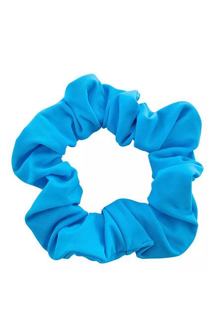 NABAIJI - Girls' swimming hair scrunchie - blue, 4-14Y