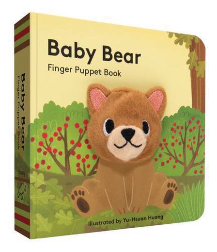 CHRONICLE BOOKS LLC USA - Baby Bear Finger Puppet Book