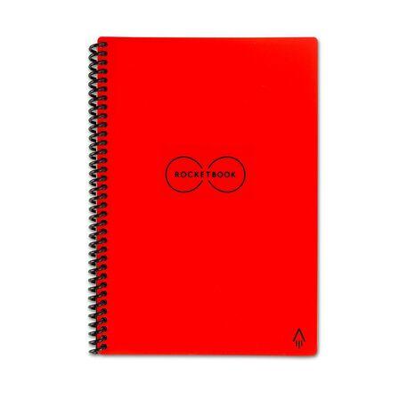 ROCKETBOOK - Rocketbook Everlast Letter Smart Notebook Red [8.5 x 11 Inch]