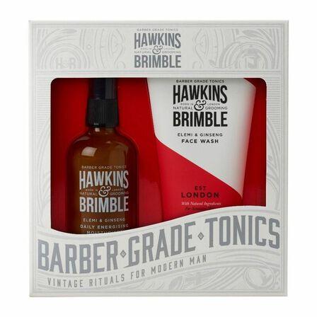HAWKINS & BRIMBLE - Hawkins & Brimble Face Gift Set Face Wash & Daily Moisturiser