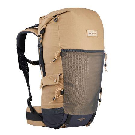 FORCLAZ - 30L Desert Trek Backpack - Ventilated And Anti-Sand - Desert 500 - Beige/Brown