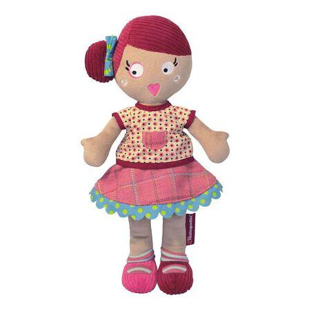 LES DEGLINGOS - Les Mistinguettes Plush Doll - Jeannette