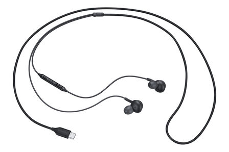 SAMSUNG - Sasmsung Type-C Basic Earphones Black