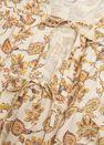 Mango - natural white Printed cotton blouse, Women