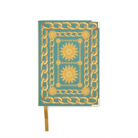 GO STATIONERY - Baroque Chaines A6 Chunky Notebook