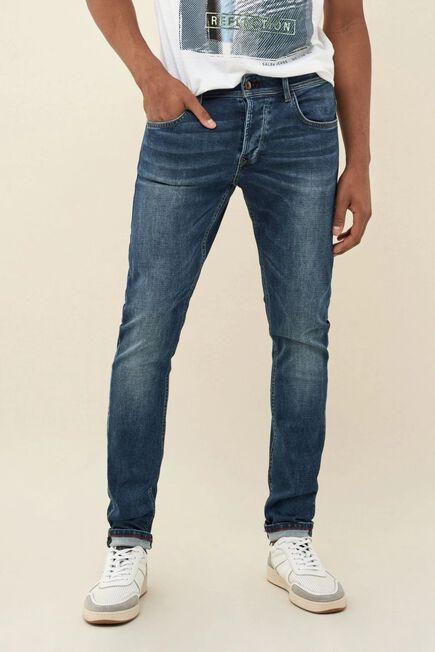 Salsa Jeans - Blue Jogger slim premium wash medium rinse jeans