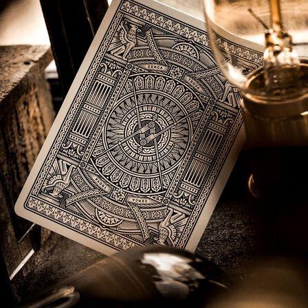 THEORY11 - Theory11 Hudson Black Playing Cards