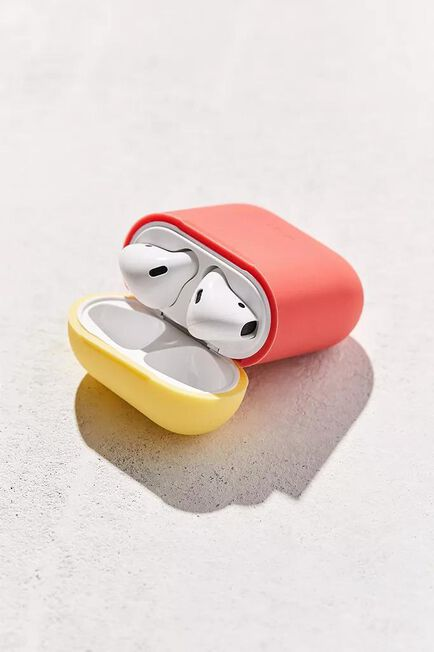 Urban Outfitters - Red Elago Airpods Silicone duo Case