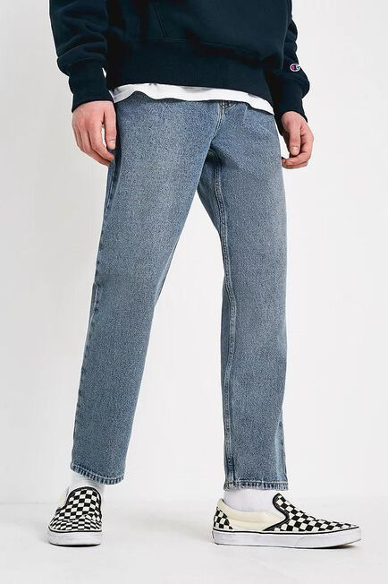 Urban Outfitters - Blue BDG Dad Heavy Light Wash Jeans