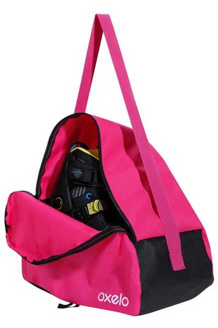 OXELO - Play Kids' 20-Litre Inline Skate Bag - Pink, Unique Size