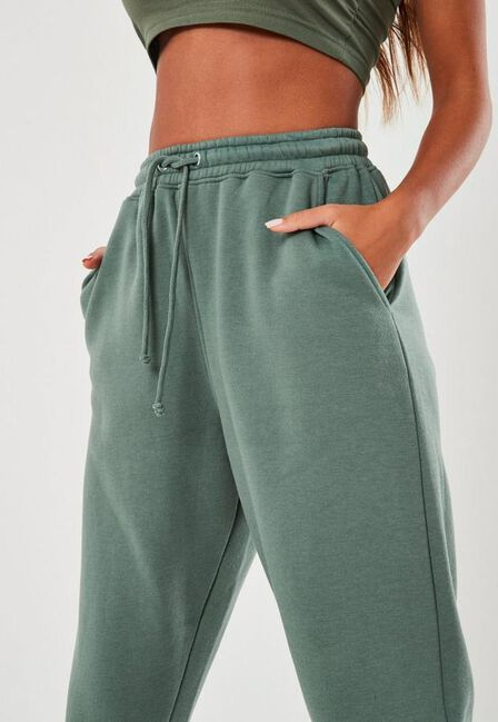 Missguided - Green Green Oversized 90S Joggers