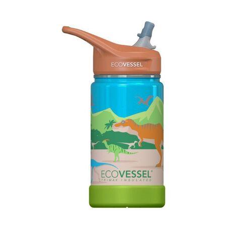 ECO VESSEL - EcoVessel Dinosaur Frost Triple Insulated Water Bottle 350 ml