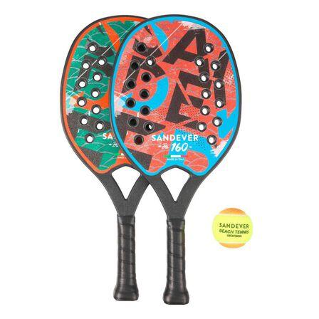 SANDEVER - Unique Size  BTR 160 Beach Tennis Racket Set, Default