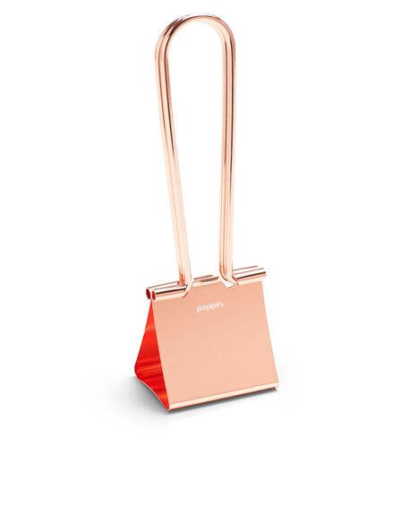 POPPIN INC - Poppin Inc XXL Binder Clip Metallic Copper