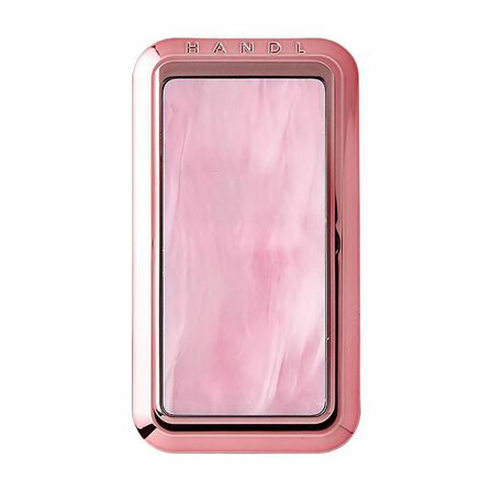 HANDL NEW YORK - Handl New York Marble Grip & Stand Pink for Smartphones