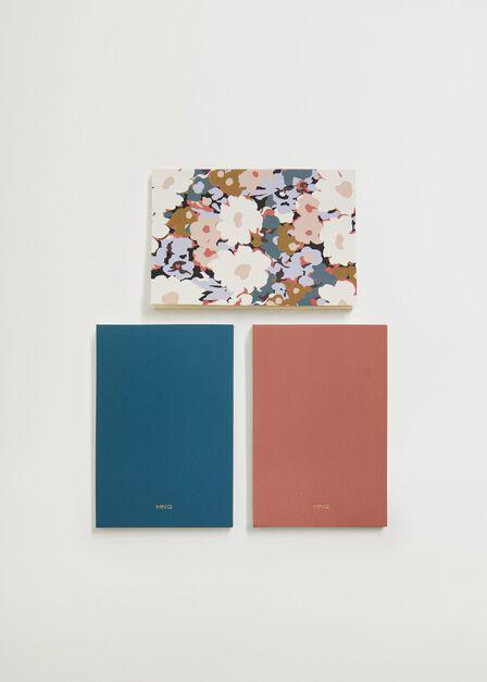 Mango - Pastel Pink Combined Notebooks