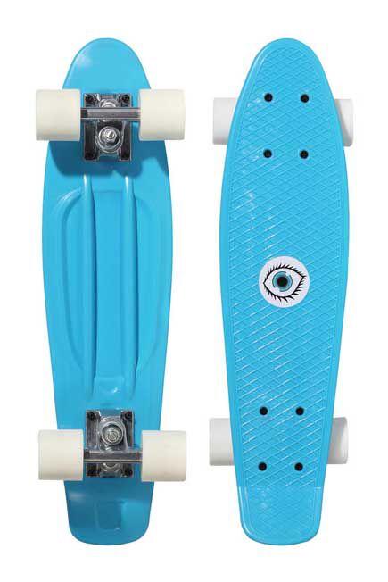 OXELO - Kids' Mini Plastic Skateboard - Blue, Unique Size
