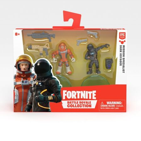 FORTNITE BATTLE ROYALE - Fortnite Battle Royale Collection S2 Missn Specialist & Drk Voyager 2 Inch Duo Pack