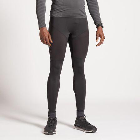 KIPRUN - W34 L34 Kiprun Men's Running Tights - Black