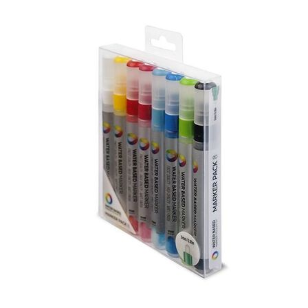 MONTANA COLORS SL - Montana Colors Water Based Markers Medium 5 mm [Pack of 8]
