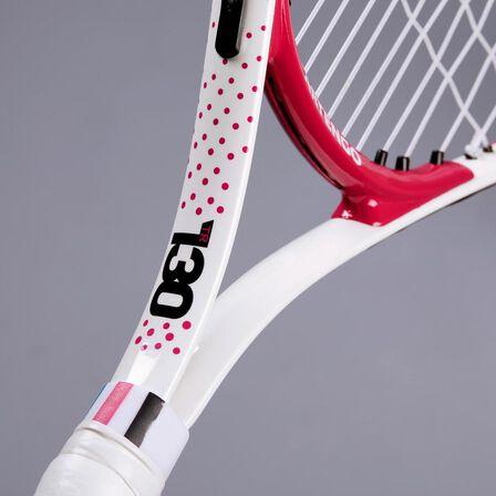 """ARTENGO - Kids' 23"""" tennis racket tr130 - pink"""
