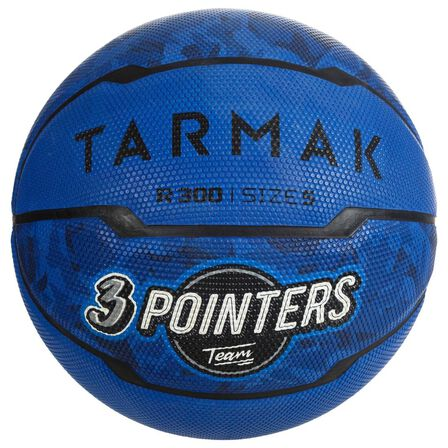 TARMAK - Size 5 R300 Kids' Basketball - Beginner Players Up To Age 10 - Blue