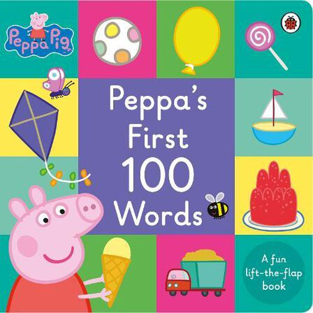 LADYBIRD BOOKS UK - Peppa Pig Peppa's First 100 Words
