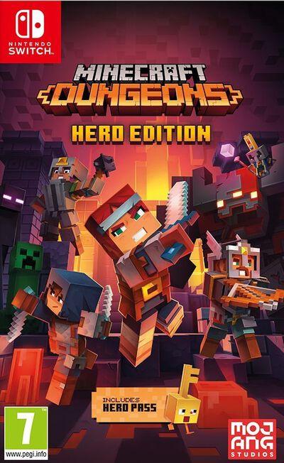 TELLTALE GAMES - Minecraft Dungeons - Hero Edition - Nintendo Switch