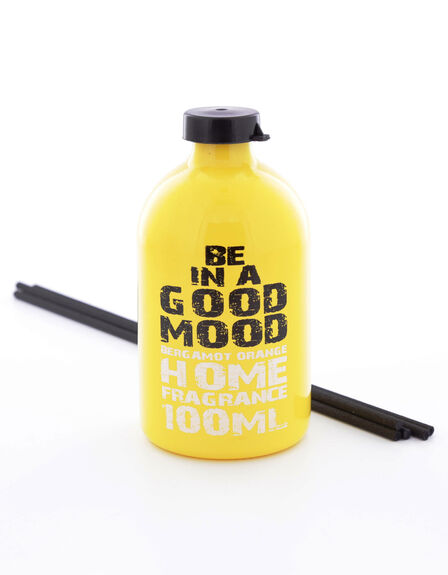 BE IN A GOOD MOOD - Big Reed Good Mood Bergamot Yellow 100ml