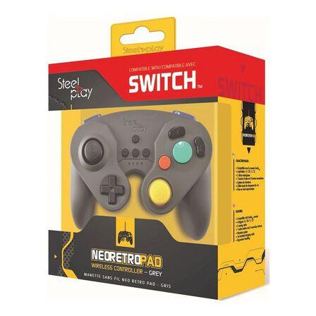 STEELPLAY - Steelplay Neo Retro Black Wireless Controller for Nintendo Switch