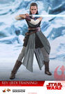 SIDESHOW COLLECTIBLES - Sideshow Star Wars Rey Jedi Training Star Sixth Scale Figure