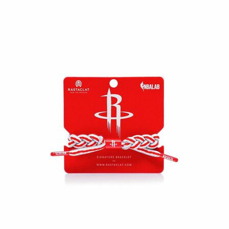 RASTACLAT - Rastaclat Houston Rockets Alternate Men's Bracelet Red/Gray