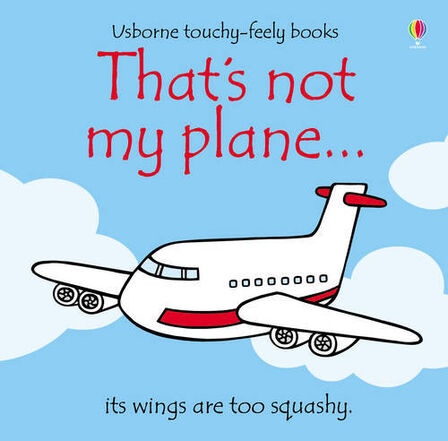 USBORNE PUBLISHING LTD UK - That's Not My Plane