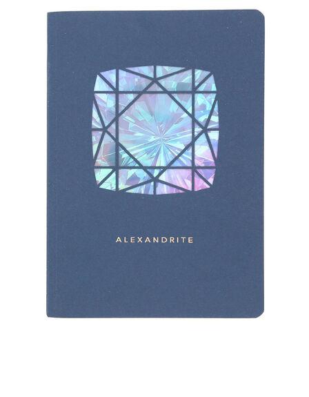 PORTICO DESIGN LTD - Portico Design Alexandrite Birthstone Blue A6 Notebook