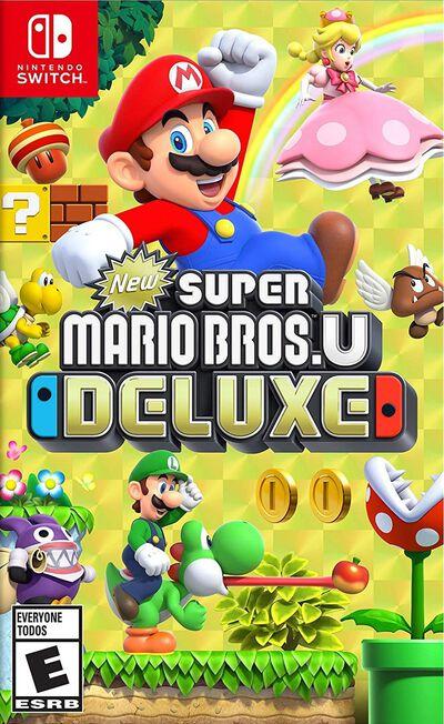 NINTENDO - New Super Mario Bros. U Deluxe [US] - Nintendo Switch