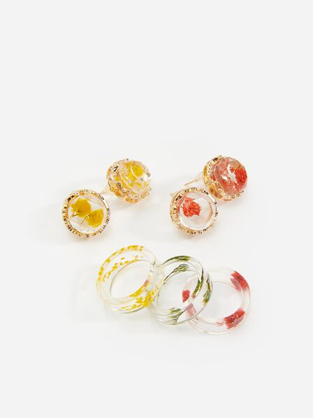 Reserved - Children`s earrings - Multicolor