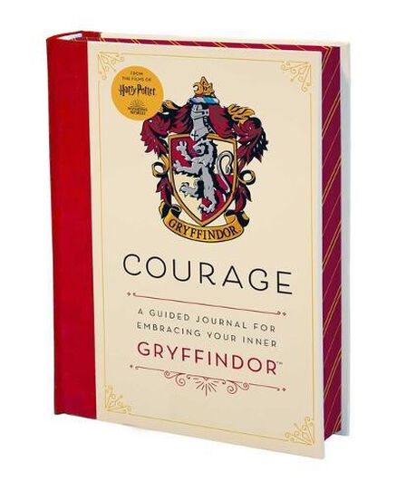 INSIGHT EDITIONS - Harry Potter Courage A Guided Journal for Embracing Your Inner Gryffindor
