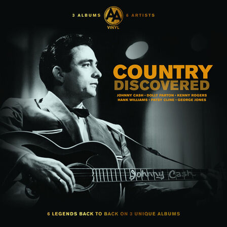 BELLEVUE PUBLISHING & ENTERTAINMENT - Discovered Country (3 Discs)   Various Artists
