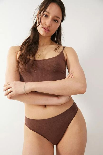 Urban Outfitters - CHOC Out From Under Markie Seamless Ribbed Knickers