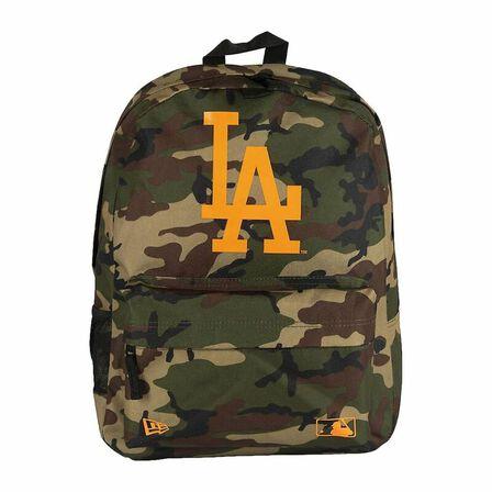 NEW ERA - New Era mlB Stadium Pack La Dodgers Backpack Woodland Camo
