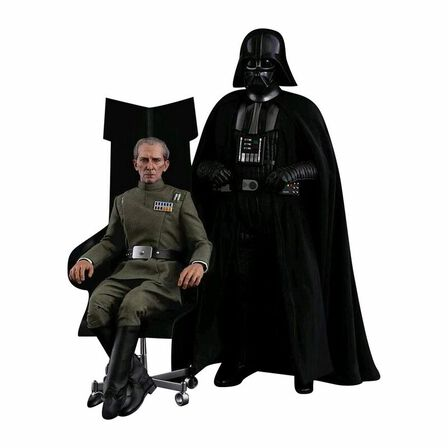 HOT TOYS - Hot Toys Grand Moff Tarkin And Darth Vader Episode Iv A New Hope 1/6 Scale