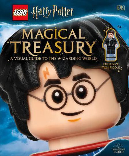DORLING KINDERSLEY UK - LEGO Harry Potter Magical Treasury A Visual Guide To The Wizarding World (With Exclusive Tom Riddle Minifigure)