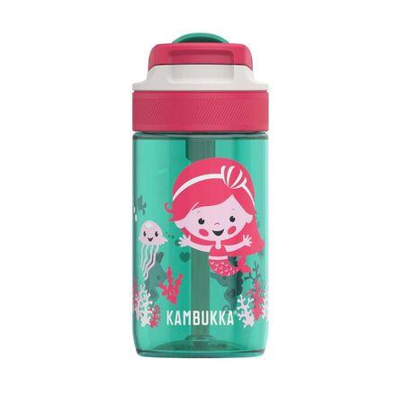 KAMBUKKA - Kambukka Lagoon Water Bottle with Spout Lid 400 ml Ocean Mermaid