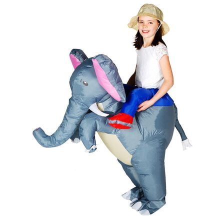 BODYSOCKS - Bodysocks Inflatable Elephant Costume for Kids