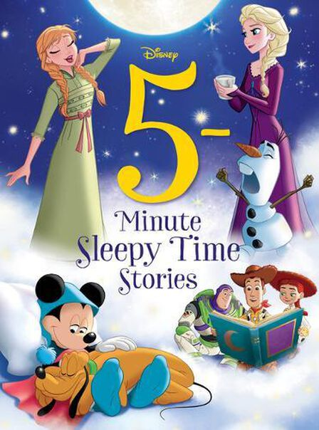 DISNEY PRESS USA - 5-Minute Sleepy Time Stories
