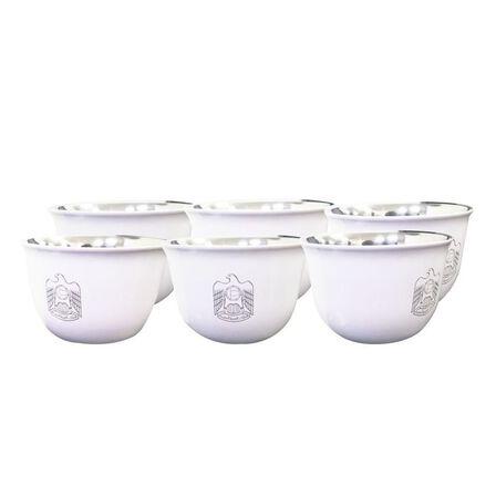 ROVATTI - Rovatti Pola Arabica Stainless Steel Cup Uae White 80ml